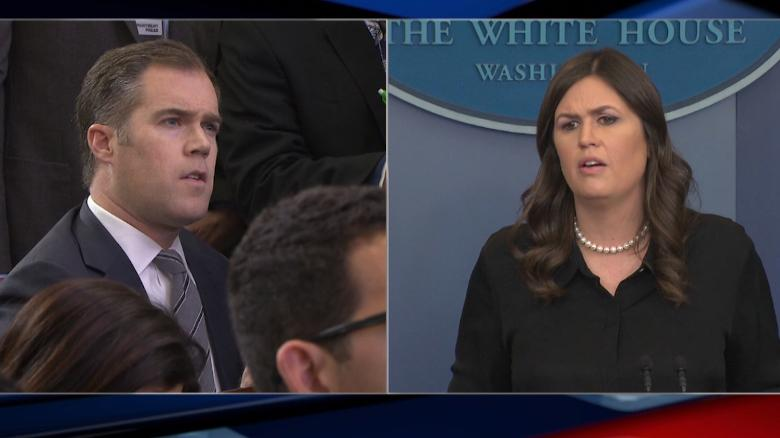 WH briefing gets heated over school shooting