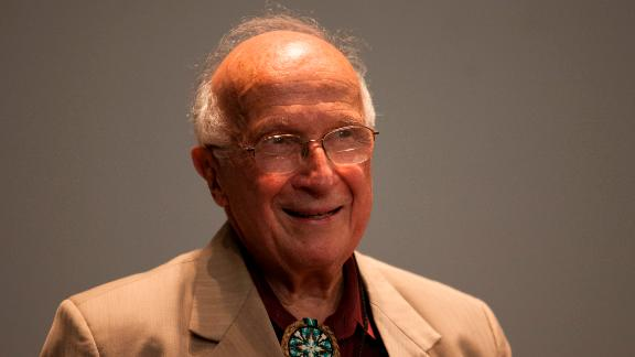"""Hoffmann competed in the 1955 Search and was a recipient of the <a href=""""https://www.nobelprize.org/nobel_prizes/chemistry/laureates/1981/hoffmann-facts.html"""" target=""""_blank"""" target=""""_blank"""">Nobel Prize in Chemistry</a> in 1981. He made the top ten in the student competition, but was awarded top honors by the Nobel committee for his work theorizing chemical reactions -- particularly the orbit of electrons."""