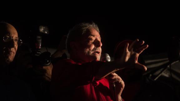 Former Brazilian President Luis Inacio Lula da Silva.