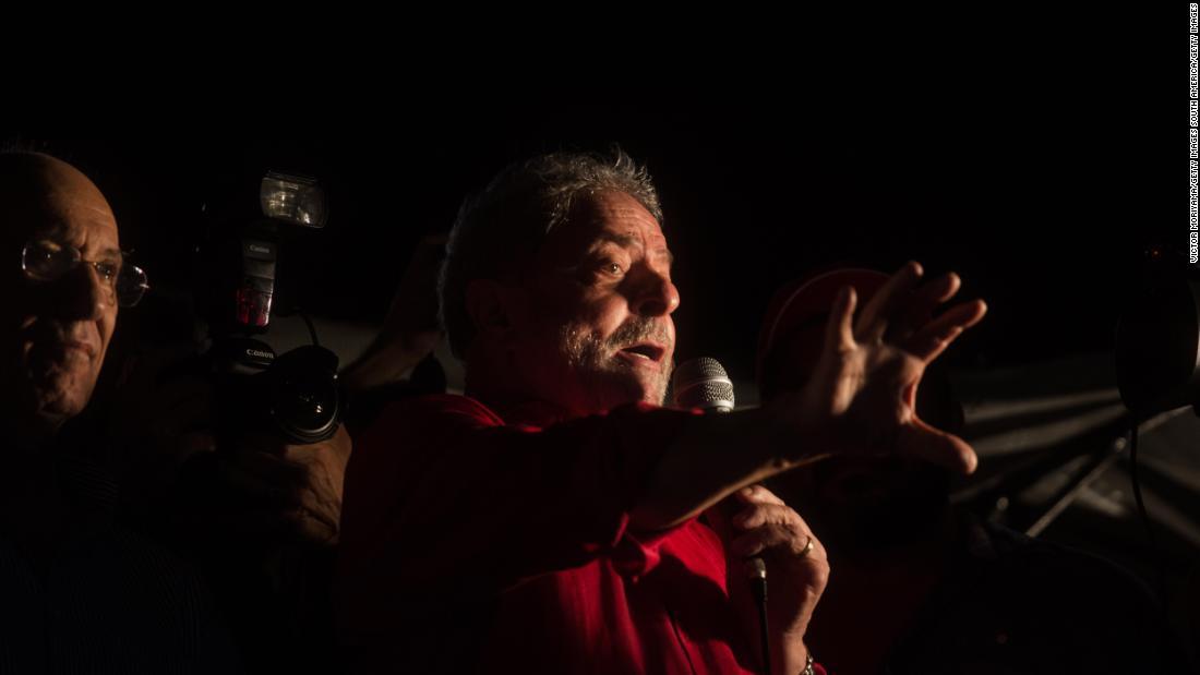 Judge orders arrest of ex-Brazil president Lula da Silva