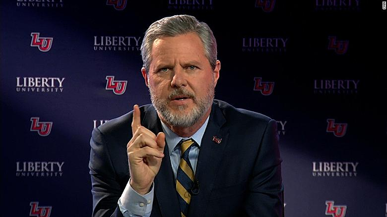 Jerry Falwell Jr. defends Trump's behavior