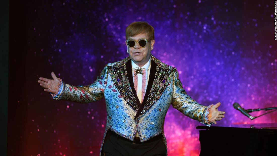 Elton John refused to 'tone down' the sex and drugs in 'Rocketman'