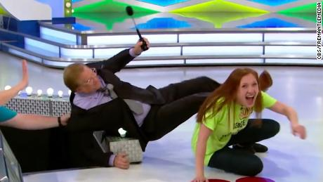 Contestant Topples Price Is Right Host