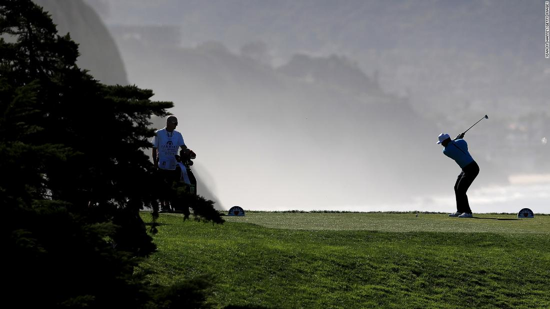 "<strong>Dark times:</strong> Woods, now 42, admits he has had some ""dark times"" with his ongoing back problem over the last few years, unable to walk freely or even get out of bed.  But Torrey Pines is a course he knows well -- he's won eight times on the San Diego track."