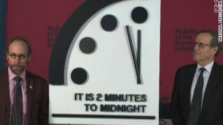 Doomsday Clock creeps closer to midnight