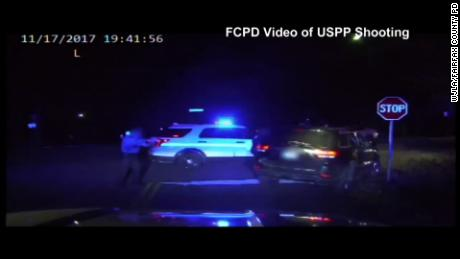U.S. Park police fired 9 times, killing the driver, video sh