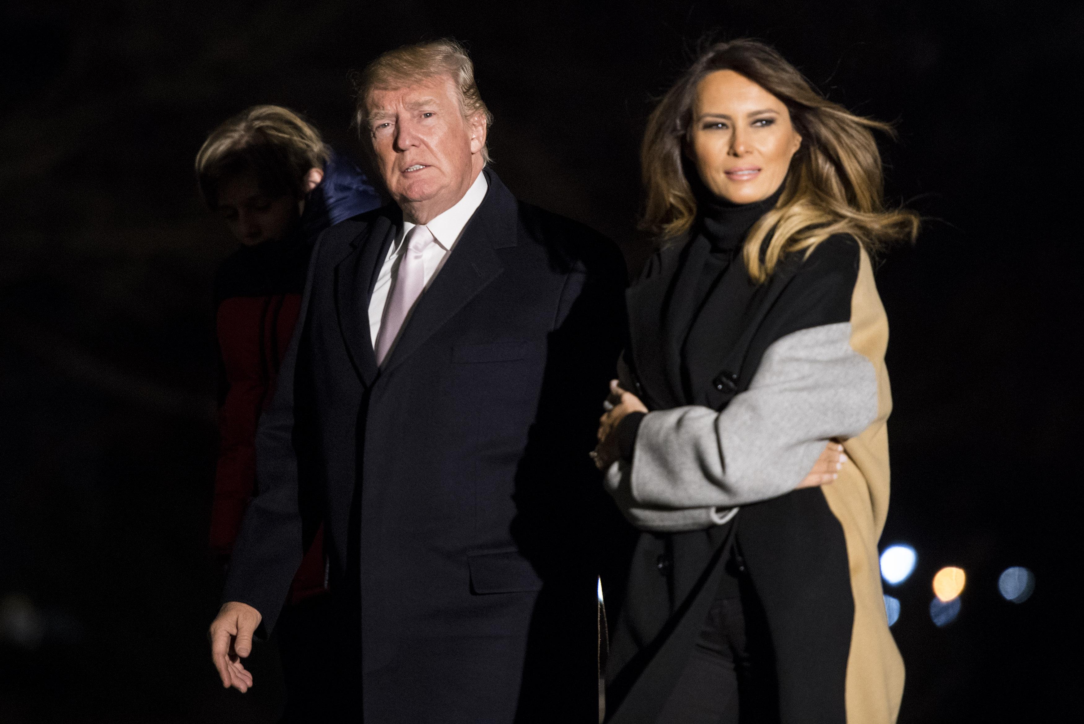 Melania Trump Spends Valentine S Day Visiting Sick Kids Cnn Politics