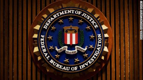 A crest of the Federal Bureau of Investigation is seen 03 August 2007 inside the J. Edgar Hoover FBI Building in Washington, DC. AFP PHOTO/Mandel NGAN (Photo credit should read MANDEL NGAN/AFP/Getty Images)