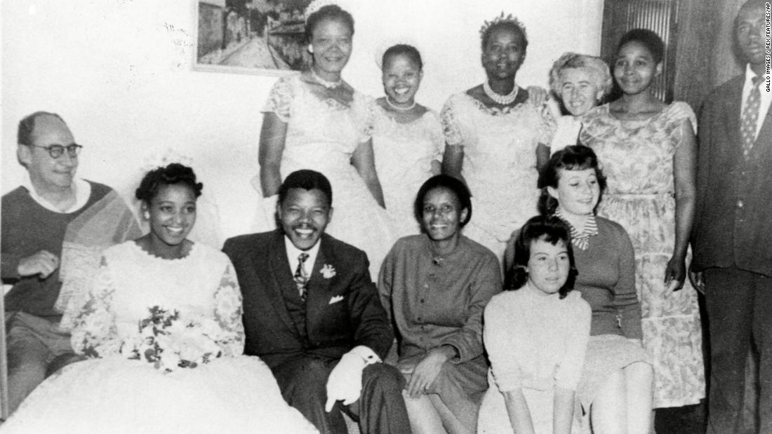 "Winnie Madikizela and <a href=""http://www.cnn.com/2013/03/28/africa/gallery/nelson-mandela/index.html"" target=""_blank"">Nelson Mandela</a> married in South Africa in 1958."