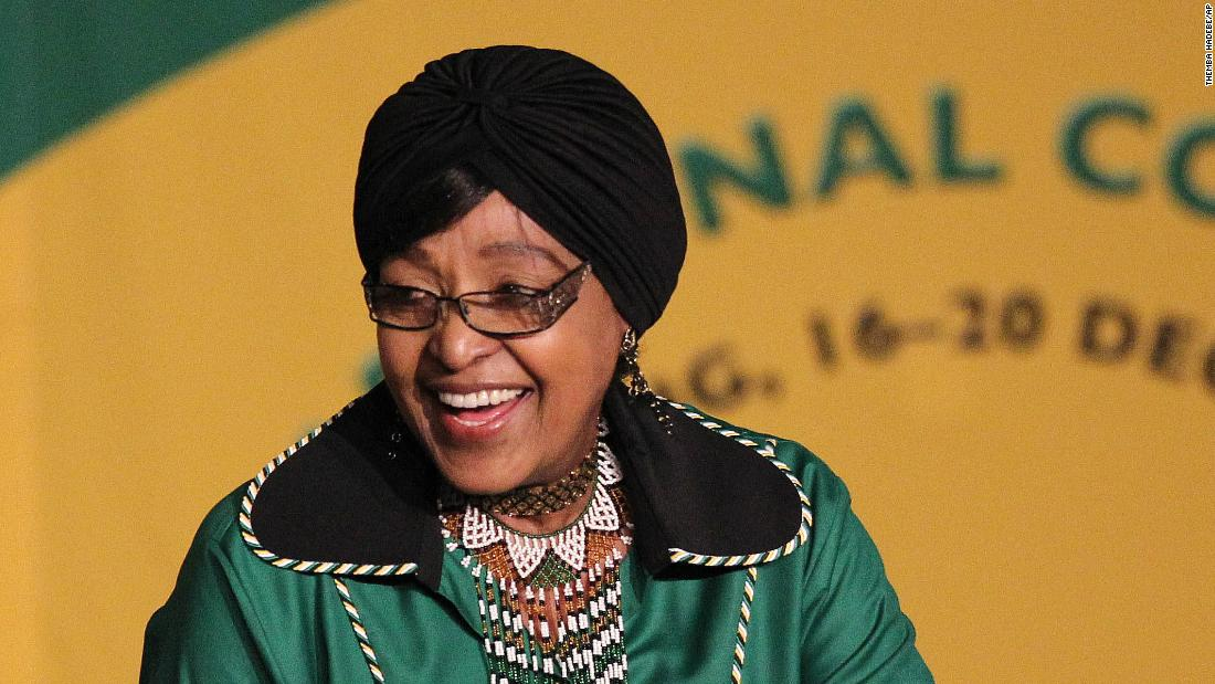 "Winnie Madikizela-Mandela, an anti-apartheid activist in South Africa and the former wife of late President Nelson Mandela, <a href=""https://www.cnn.com/2018/04/02/africa/winnie-mandela-south-africa-intl/index.html"" target=""_blank"">has died</a> at the age of 81. The outspoken campaigner was known as the ""Mother of the Nation"" because of her struggle against white minority rule in South Africa. She was a member of South Africa's parliament at the time of her death."