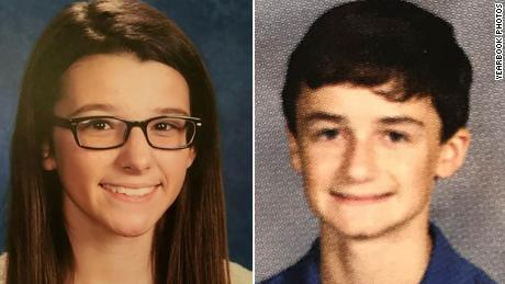 Bailey Holt and Preston Cope, both 15, died in Tuesday's shooting.