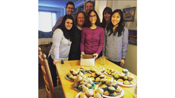 Julia Levy helped Jacob Kaufman turn National Muffin Day into a movement.