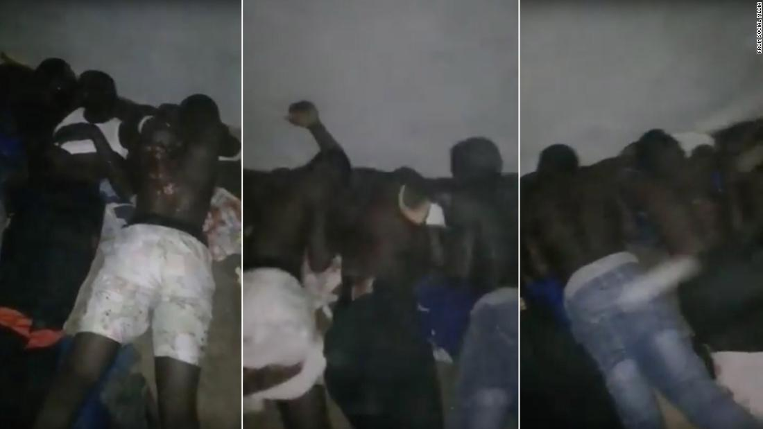 Migrants whipped and tortured on film