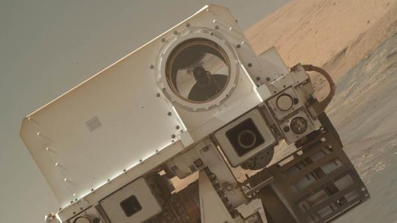"NASA's Mars Curiosity Rover tweeted out a new image on January 23, 2018: ""I'm back! Did you miss me?"" The selfie is part of a fresh batch of images the rover beamed back from Mars."