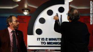 Running the Doomsday Clock is a full-time job. Really.