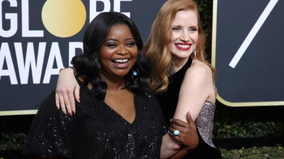 Octavia Spencer says Jessica Chastain helped her get a pay raise for their next film together.