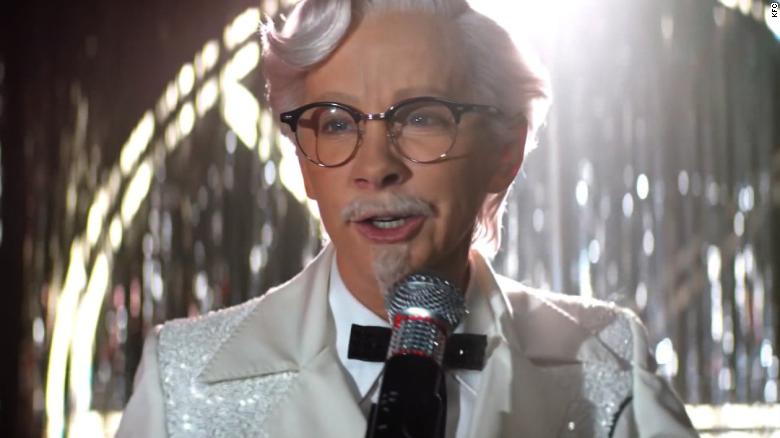Country star debuts as Colonel Sanders