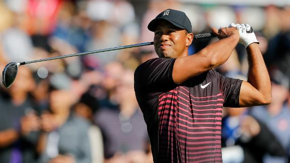 The latest return: Tiger Woods might not have troubled the top of the leaderboard at the Farmers Insurance Open in January, finishing seven shots off eventual winner Jason Day, but he did show glimpses of his old self.