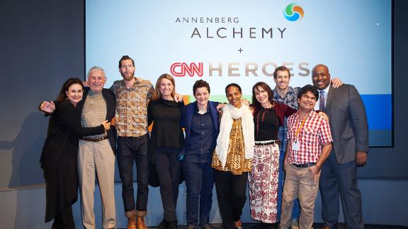 The 2016 Top 10 CNN Heroes at Annenberg Alchemy