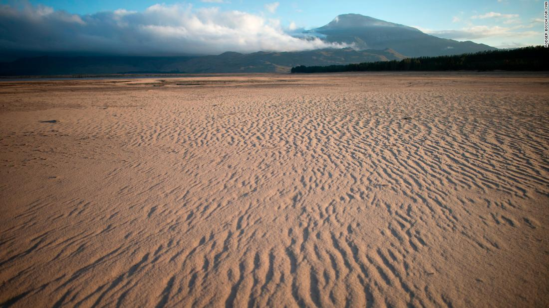 South Africa ranks as the 30th-driest country in the world and is considered a water-scarce region. A highly variable climate causes uneven distribution of rainfall, making droughts even more extreme. Theewaterskloof Dam, Cape Town's main water supply, can be seen lying almost empty on January 26.