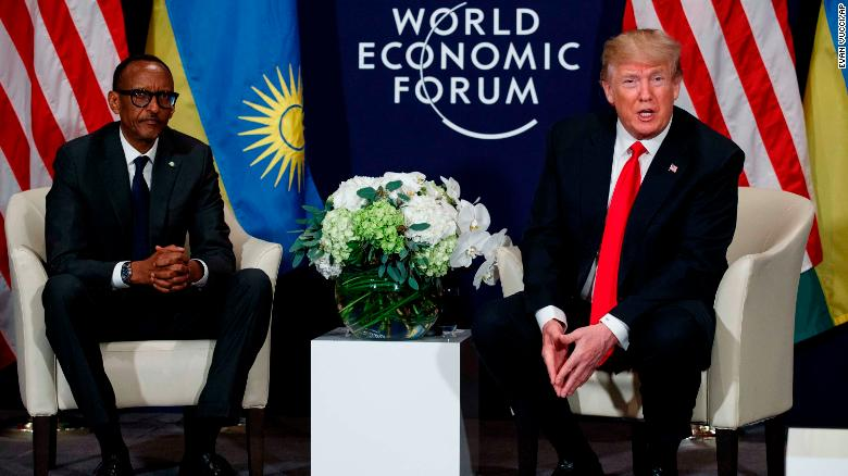 Trump: We have great relationships with Rwanda