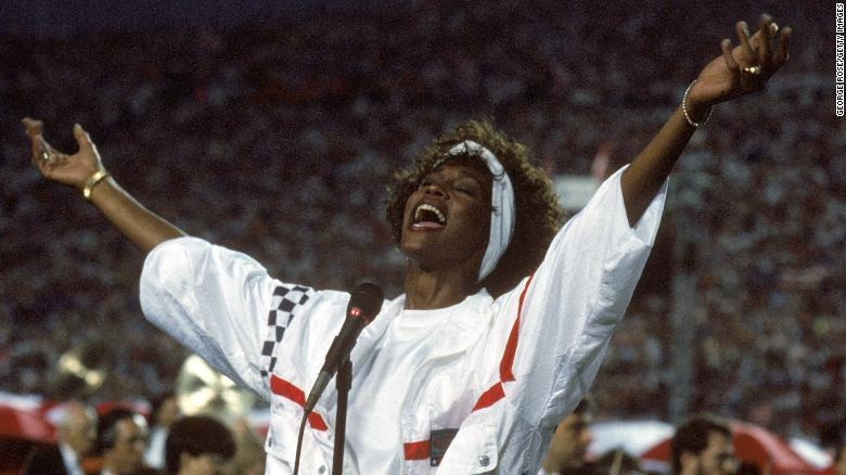 Revisiting Whitney Houston's radical reclamation of 'The Star-Spangled Banner'