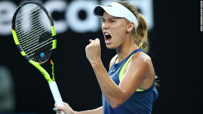 Caroline Wozniacki wins the Australian Open