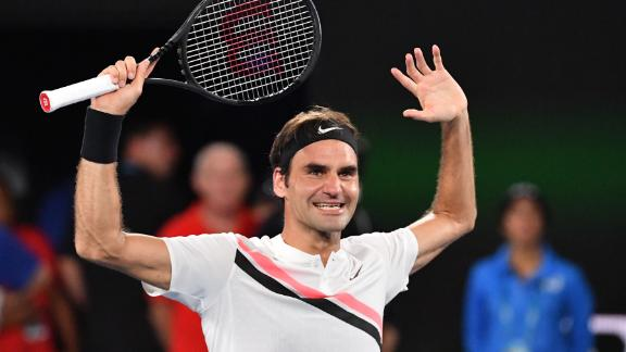 Federer saved two break points to start the set, then broke immediately. That was that.