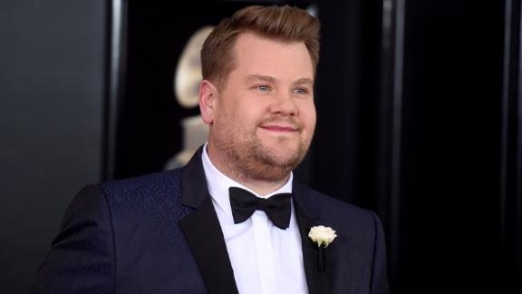 NEW YORK, NY - JANUARY 28:  Host James Corden attends the 60th Annual GRAMMY Awards at Madison Square Garden on January 28, 2018 in New York City.  (Photo by Jamie McCarthy/Getty Images)