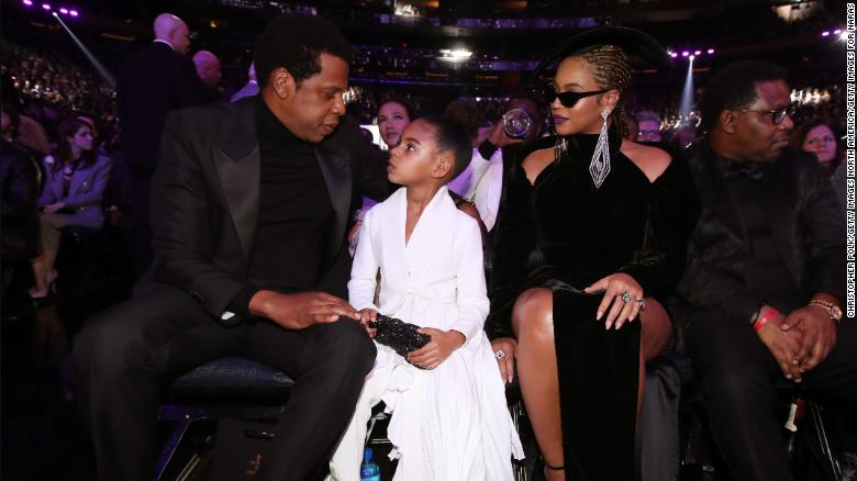 Blue Ivy gets in bidding war at art gala