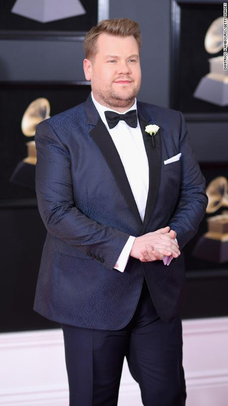 Host James Corden