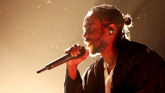 NEW YORK, NY - JANUARY 28: Recording artist Kendrick Lamar attends the 60th Annual GRAMMY Awards at Madison Square Garden on January 28, 2018 in New York City.  (Photo by Christopher Polk/Getty Images for NARAS)