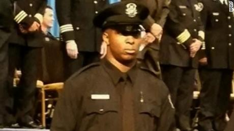 Officer Glenn Doss Jr. was shot last Wednesday while responding to a domestic violence call.