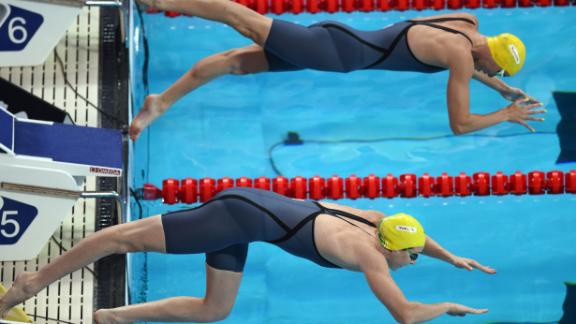 But at the Rio Olympics, things went awry with Cate's form eluding her in the 100 meter freestyle final and Bronte struggling with injury in the build-up.