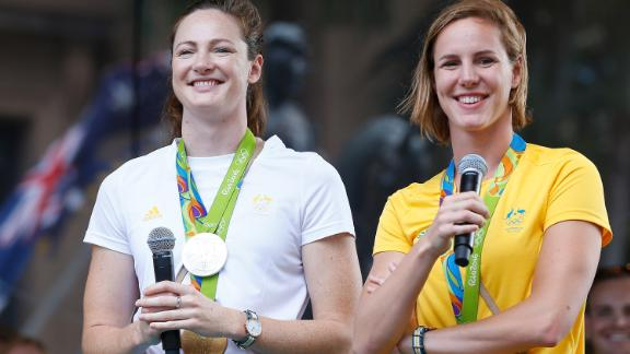 """For Cate (left), her experience at Rio left her """"heartbroken."""""""