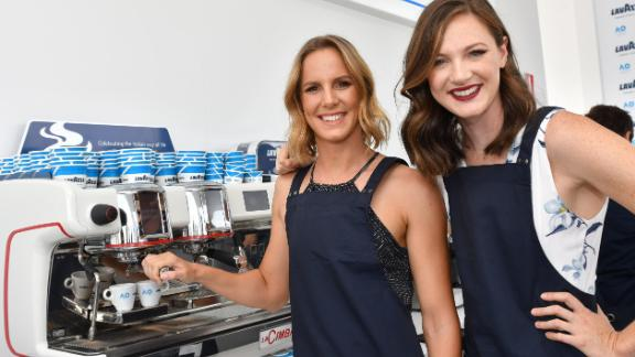 Bronte (left) and Cate Campbell are the swimming sisters targeting the top step of the podium at April's Commonwealth Games.
