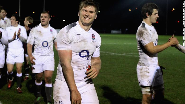 NEWBURY, ENGLAND - MARCH 11:  Owen Farrell of England after the 6 Nations Championship match between England Under 20's and Scotland Under 20's on March 11, 2011 in Newbury, England.  (Photo by Scott Heavey/Getty Images)