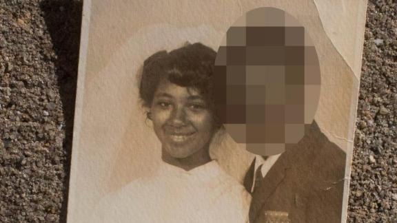 Photo of Sherry Johnson and first husband. (Cassi Alexandra for CNN)