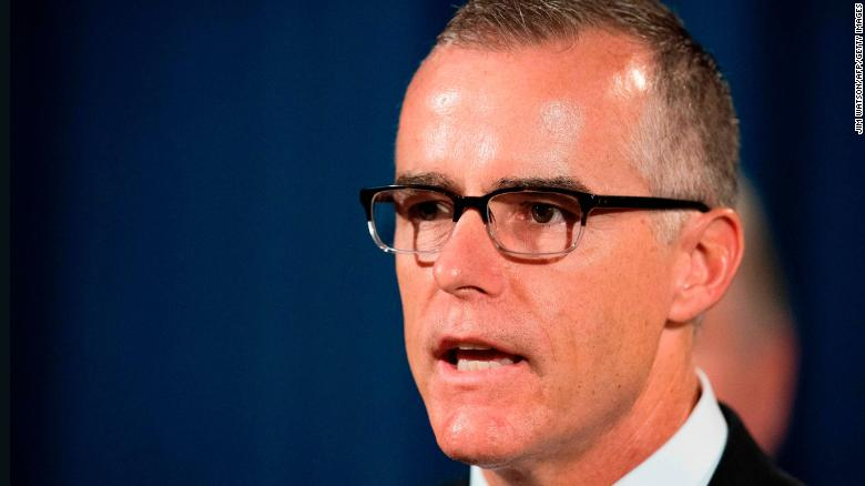 Sources: McCabe forced out at FBI, not voluntary