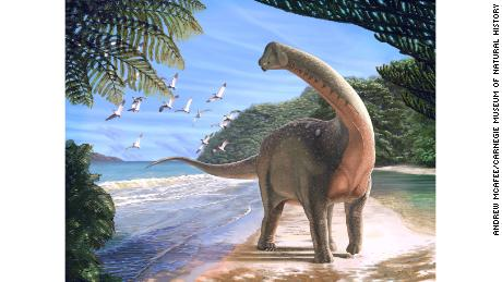 A bus-sized dinosaur is found in Egypt and it offers a clue to an ancient mystery