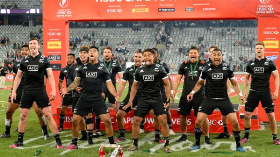 The All Blacks claimed a first tournament victory since March 2016 in Cape Town, toppling Argentina in the final.