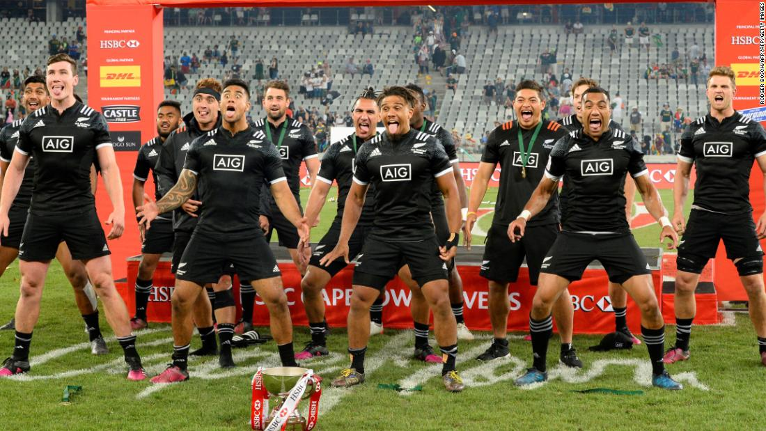 "The All Blacks claimed a first tournament victory since March 2016 in Cape Town, <a href=""https://edition.cnn.com/2017/12/11/sport/rugby-sevens-world-series-round-two-cape-town-new-zealand-haka/index.html"">toppling Argentina </a>in the final."