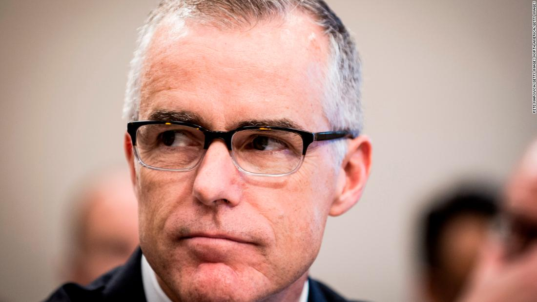Sessions considering whether to fire McCabe