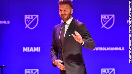 Beckham realizes Miami MLS dream
