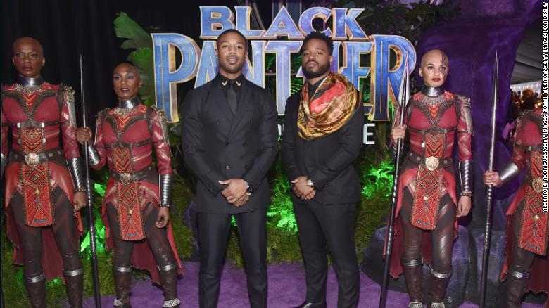 Michael B Jordan Left And Writer Director Ryan Coogler At The