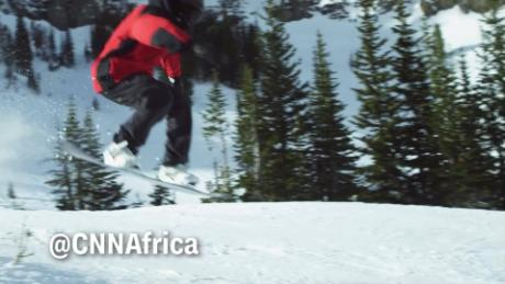African Voices Ugandan snowboarder 2022 Winter Games C_00002814