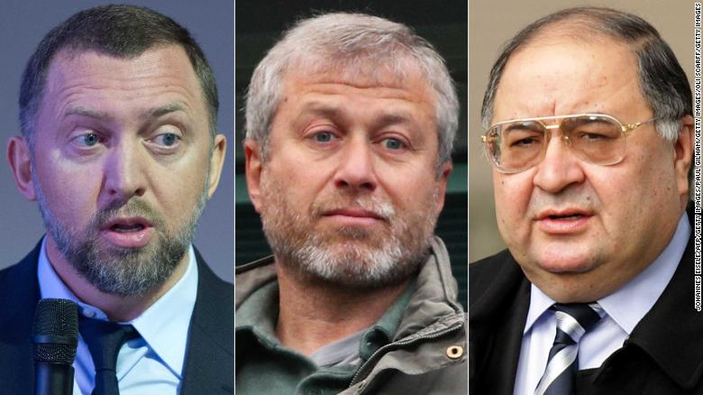 Russian oligarchs named and shamed
