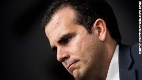 Puerto Rico governor announces resignation