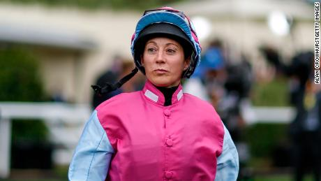 Hayley Turner is one of only three female jockeys to have ridden in the Derby.