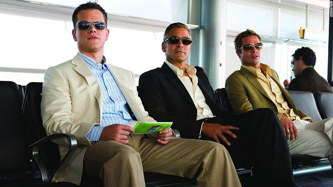 "<strong>""Ocean's Thirteen""<strong></strong>:</strong> Danny Ocean rounds up his fellow criminals for a third heist. <strong>(Netflix) </strong>"